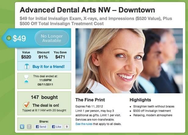 L'Antitrust, il dentista e Groupon